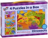 Динозаври - Четири пъзела в кутия - пъзел