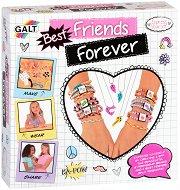 Създай сама - Гривни на приятелството - Творчески комплект -