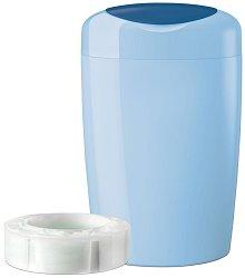 Хигиенен кош за пелени - Simplee: Blue - Комплект с 1 брой  касета -