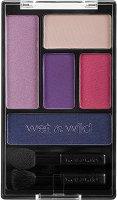 """Wet'n'Wild Color Icon Eyeshadow Pallete - Палитра от 5 цвята сенки за очи в комплект с апликатори от серията """"Color Icon"""" - спирала"""