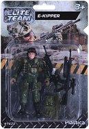 """Войник със снайпер - Фигура за игра от серията """"Elite Тeam"""" -"""