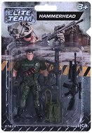"""Войник с картечница - Фигура за игра от серията """"Elite Тeam"""" -"""