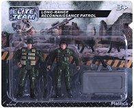 """Войници с аксесоари - Фигури от серията """"Elite Тeam"""" -"""