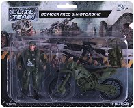 """Войник с мотор - Фред - Фигура за игра от серията """"Elite Team"""" -"""