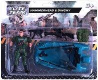 """Войник с лодка - Фигура за игра от серията """"Elite Team"""" -"""