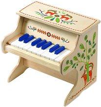 """Дървено електронно пиано - Детски музикален инструмент от серията """"Animambo"""" -"""