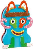 Декорирай чудовищата - 2 в 1 - Детски комплект с магнити - играчка