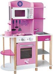 Детска кухня - Тренди - Дървена играчка с аксесоари -