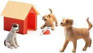 Кучета - Фигури за обзавеждане на къща за кукли -