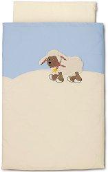 Спален комплект за бебешко креватче - Агънцето Stanley - 2 части -