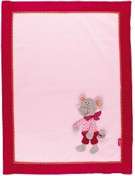 Бебешко одеяло - Мишлето Leonora - Размери 100 х 75 cm -