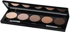 IsaDora Eye Shadow Palette - Палитра с 5 цвята сенки за очи -