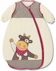Бебешко зимно спално чувалче - Кравичката Karlotta -