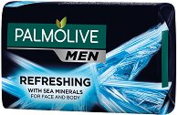 Palmolive Men Refreshing With Sea Minerals Body & Face - Сапун за мъже с морски минерали - крем