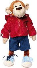 Маймунка с дрехи - Плюшена играчка -
