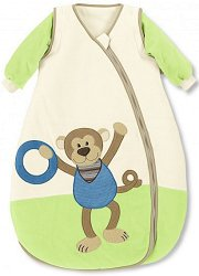 Бебешко зимно спално чувалче - Маймунката Anton -