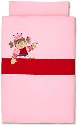 Бебешки спален комплект от 2 части - Rosalie - 100% памук за матраци с размери 60 x 120 cm и 70 x 140 cm -