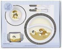 Детски комплект за хранене - Кученцето Hanno - За бебета над 6 месеца - продукт