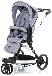 Комбинирана бебешка количка - 3-Tec Plus: Graphite Grey - С 3 колела -