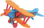 """Самолет - Дървен 3D пъзел за оцветяване от серията """"Mara"""" -"""