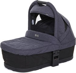 """Кош за новородено - Plus: Street Black - Аксесоар за детски колички """"Cobra Plus"""", """"Mamba Plus"""" и """"3-Tec Plus"""" -"""