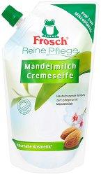 Frosch Mandelmilch Pflegeseife - Пълнител за течен сапун с бадемово мляко - шампоан
