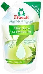 Frosch Aloe Vera Pflegeseife - Пълнител за течен сапун с алое вера - масло