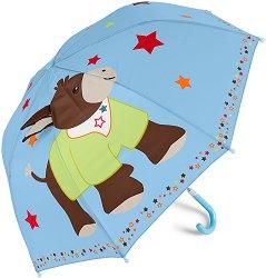 Детски чадър - Магаренцето Emmi - детски аксесоар