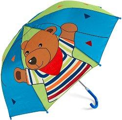 Детски чадър - Мечето Ben - играчка