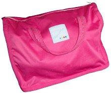 Розова чанта за употребявани пелени - Happy Poo -