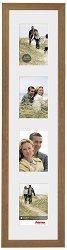 Дървена рамка за снимки - Riga: Brown -