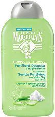 Le Petit Marseillais Gentle Purifying White Clay & Aloe Vera Shampoo - Шампоан за мазна коса с бяла глина и алое вера - спирала