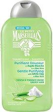 Le Petit Marseillais Gentle Purifying White Clay & Aloe Vera Shampoo - Шампоан за мазна коса с бяла глина и алое вера - маска