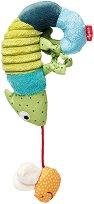Хамелеонче - Мека играчка за количка или легло - играчка