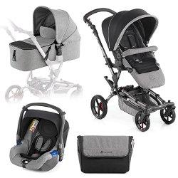 Бебешка количка 3 в 1 - Epic Formula Koos - С 4 колела -