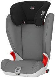 """Детско столче за кола - Kidfix SL: Steel Grey - С """"Isofix"""" система за деца от 15 до 36 kg -"""