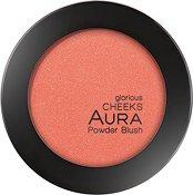 Aura Glorious Cheeks Powder Blush - масло