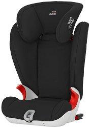 """Детско столче за кола - Kidfix SL: Cosmos Black - С """"Isofix"""" система за деца от 15 до 36 kg -"""