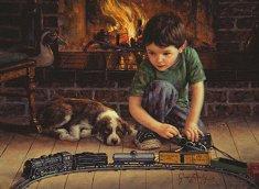Млад инженер - Джим Дали (Jim Daly) - пъзел