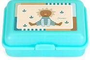 Детска кутия за храна - Лео - С подвижен разделител -