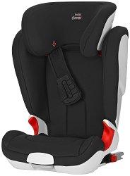 """Детско столче за кола - Kidfix XP: Cosmos Black - С """"Isofix"""" система за деца от 15 до 36 kg -"""