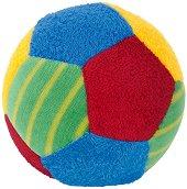 Цветна топка - Мека бебешка дрънкалка -
