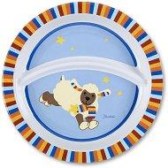 Детска меламинова чиния за хранене - Агънцето Stanley - продукт
