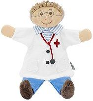 Кукла за куклен театър - Лекар - детски аксесоар