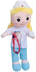 Кукла - Доктор - Интерактивна говореща и пееща играчка с аксесоари -