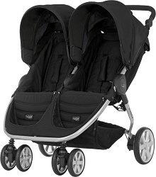 Комбинирана бебешка количка за близнаци - B-Agile Double -