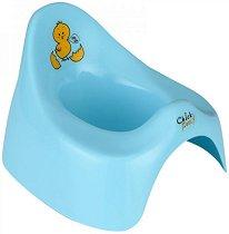 Синьо детско гърне - Chick - гърне