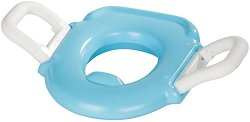 Синя седалка за тоалетна чиния -