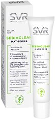 """SVR Sebiaclear Mat + Pores Cream - Матиращ крем за мазна и склонна към акне кожа от серията """"Sebiaclear"""" -"""