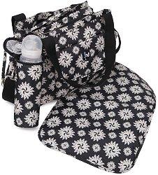 Чанта - Karina - Аксесоар за детска количка с подложка за преповиване и термобокс - продукт
